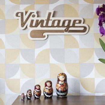 décoration murale intérieur vintage usa 50's retro classic