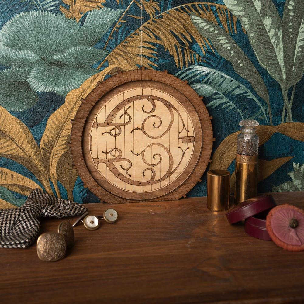 mini porte décoration murale seigneur des anneaux lord of the ring fantasy fantastique elfique